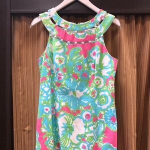 Lilly Pulitzer Lindy Pink A Delicacy Dress Size 6